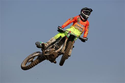 EMX Moto win for Darian Sanayei in Italy
