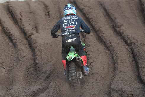 Roan van de Moosdijk fifth in MX2 Qualification