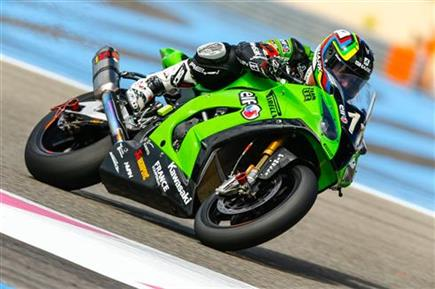 Team Kawasaki SRC gets Bol d'Or pole position