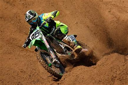 Fourth place moto for Clement Desalle in Belgium