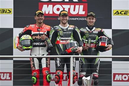 Battling Win For Sykes As Rea Earns Third Place