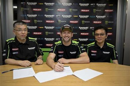 Sykes And Kawasaki Racing Team Continue Their Strong Partnership