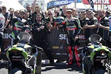 Rea And Sykes Secure First And Second Places After Saturday Race