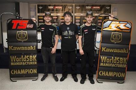 Kawasaki Wins Manufacturers' Championship After Double KRT Podium