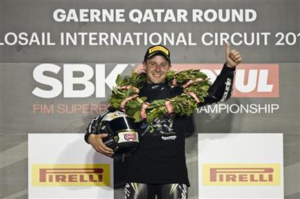 Double Champion Rea Makes Superbike History With Kawasaki