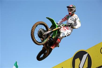 Arnaud Tonus second in class at the Nations
