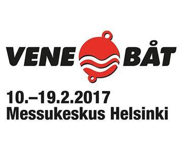 Olemme mukana Vene 17 Båt -messuilla 10.-19.2.2017
