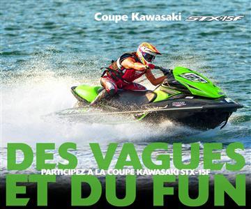 Coupe Kawasaki STX-15F 2016