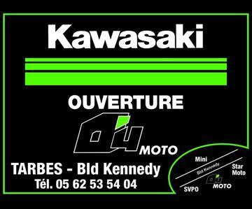 O4 Moto, votre nouveau concessionnaire Kawasaki à Tarbes !