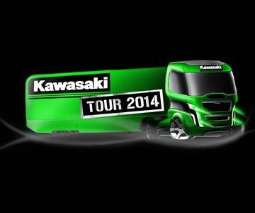 Retrouvez les dates du Kawasaki Tour 2014
