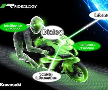 Kawasaki développe une IAsur ses motos