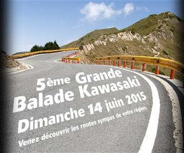 La grande balade Kawasaki, c'est le dimanche 14 Juin !