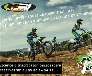 Journée d'essai de la gamme Cross 2017 - K21 MOTO
