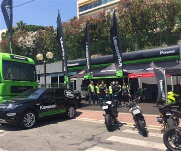 Festival de motos à Cannes !