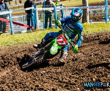 Kawasaki : leader du National MX2