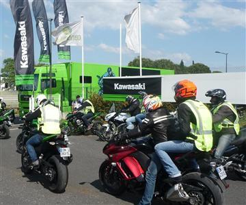 Kawasaki Tour : Montpellier fait son show !