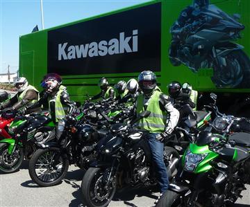 Le Kawasaki Tour met le cap vers l'Ouest !
