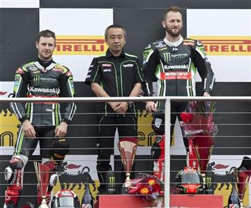 Compétition, un week-end de plus sous la domination Kawasaki.