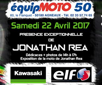 Jonathan Rea chez Equip'Moto 50 le 22 Avril !