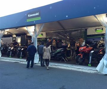 Kawasaki présent au Mondial de l'Automobile de Paris