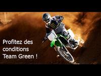 Pour 2017, profitez des conditions Team Green !