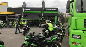 Le Kawasaki Tour en région Bordelaise