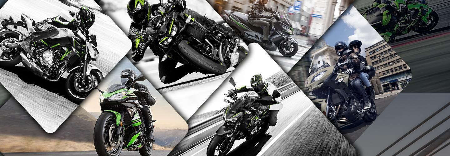 Calendario Demo Ride ed Eventi Kawasaki 2017