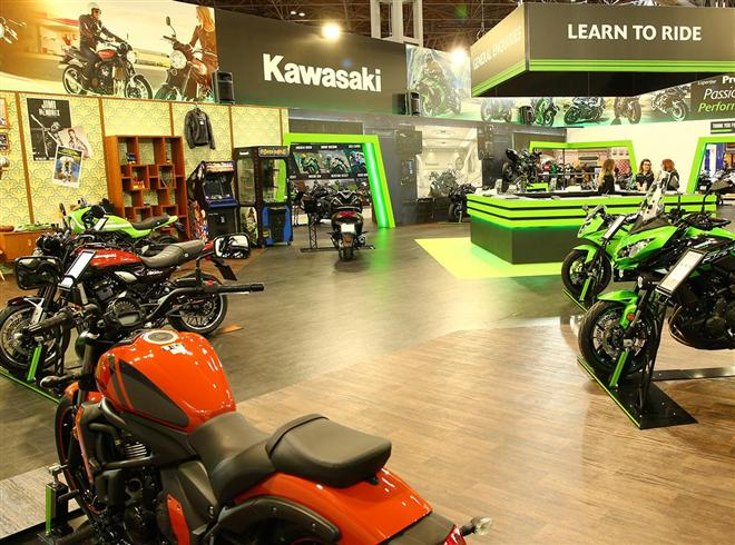 Kawasaki UK Gear Up for MCN London Motorcycle Show 2018