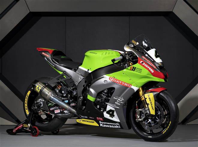 Quattro Plant Bournemouth Kawasaki Ninja ZX-10RR unveiled at 2020 MCN London Motorcycle Show