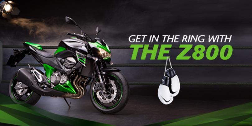 New Kawasaki Z800 design microsite launched