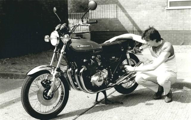 Kawasaki Z1, the expert's choice.