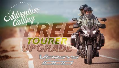 Free Tourer Upgrade on Versys 1000