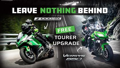 Leave Nothing Behind – Versys 650 & Z1000SX