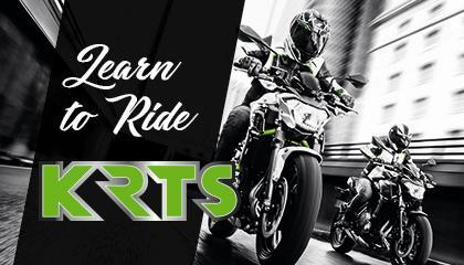 LEARN TO RIDE WITH KAWASAKI