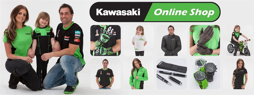 kawasaki online shop kawasaki uk. Black Bedroom Furniture Sets. Home Design Ideas