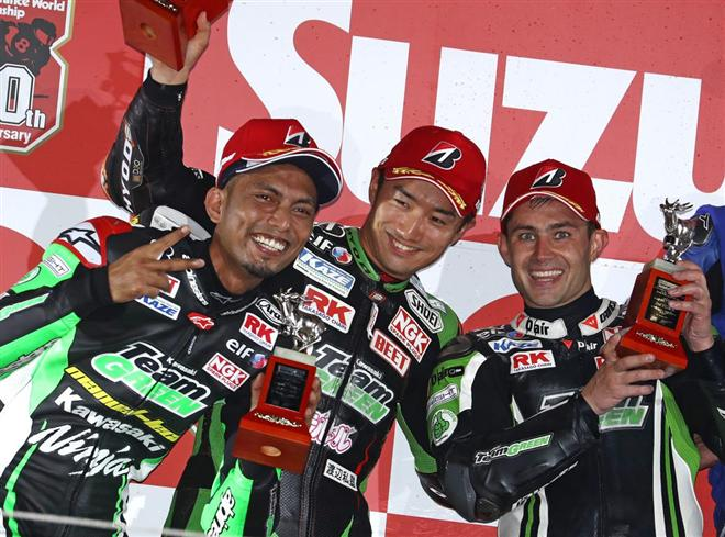 Sensational Suzuka Second for Team Green