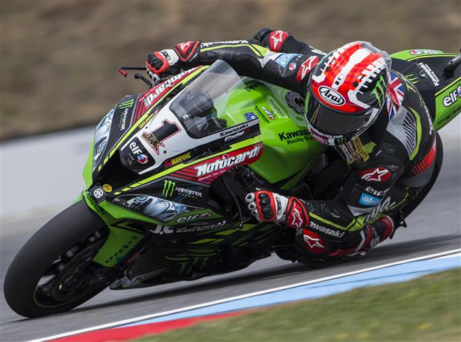 Jonathan Rea - two more years with Kawasaki