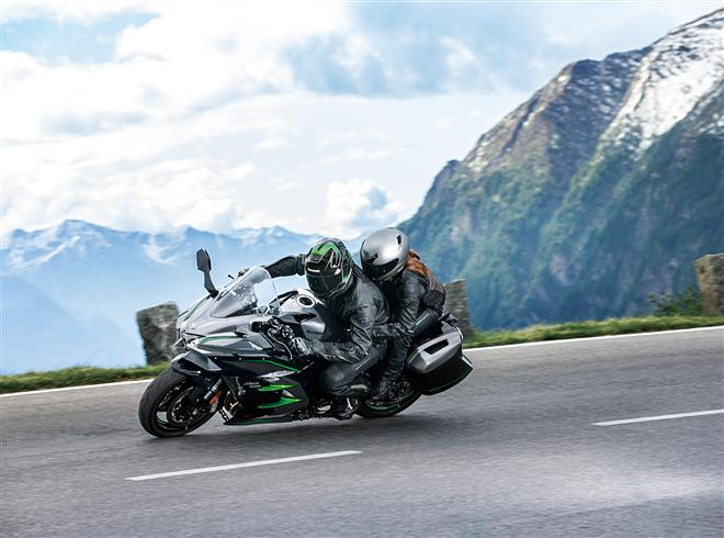 Disponible la nueva Ninja H2 SX SE +