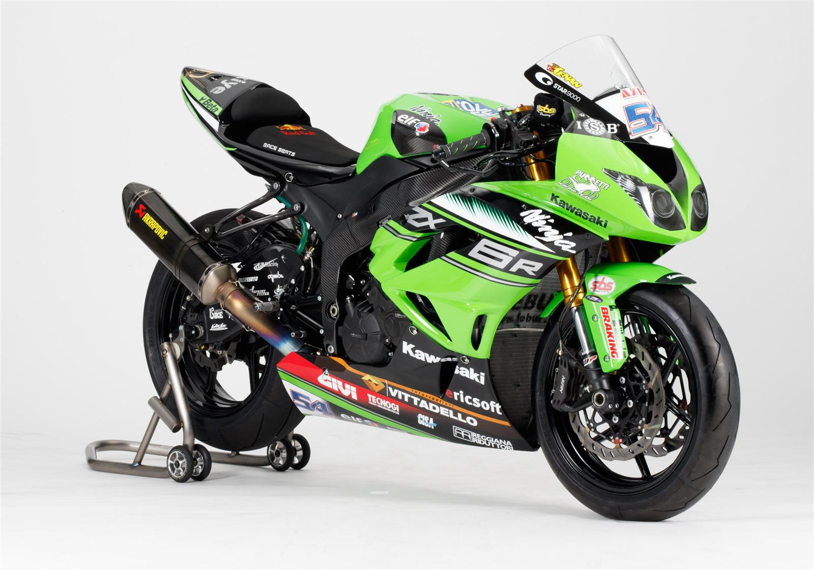 Kawasaki race bike