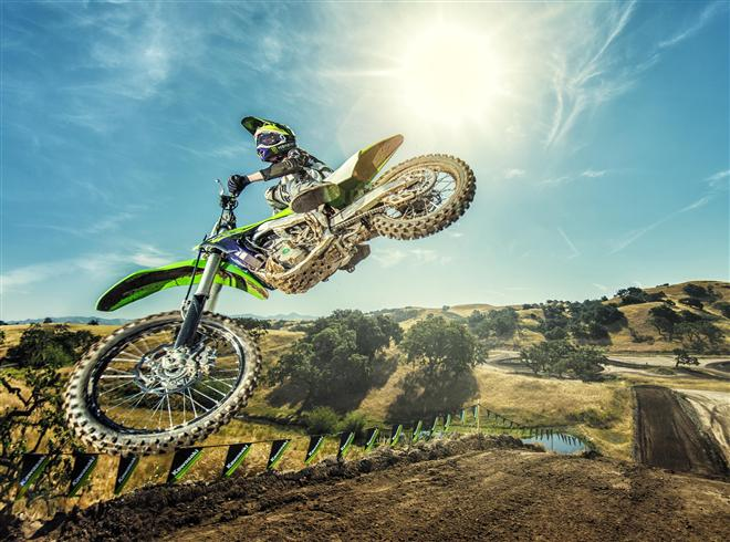 Further innovations for KX250F in 2018