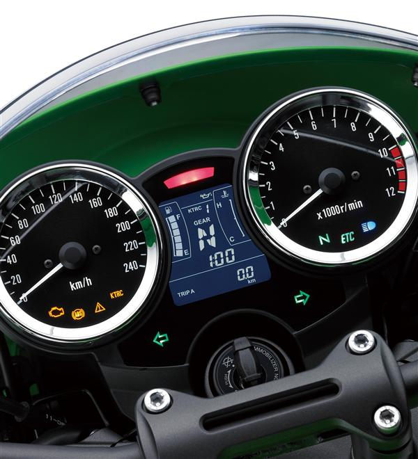 Dual Dial Instrumentation With Multi Function LCD