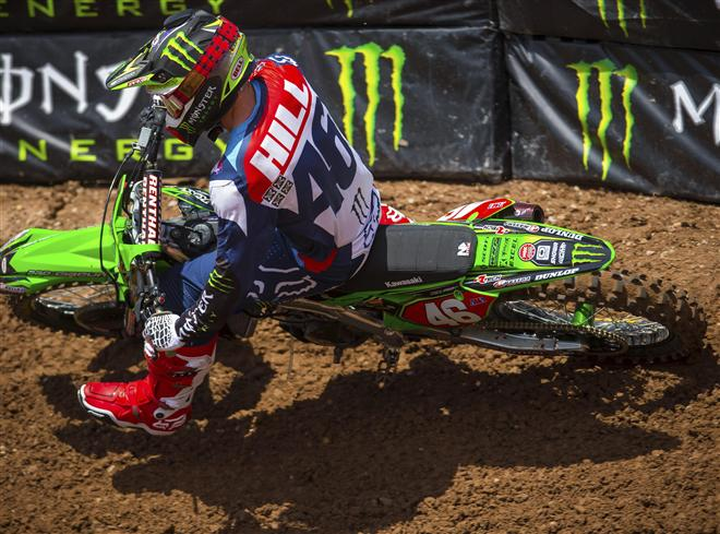 Hill Clinches 250SX West Region Championship