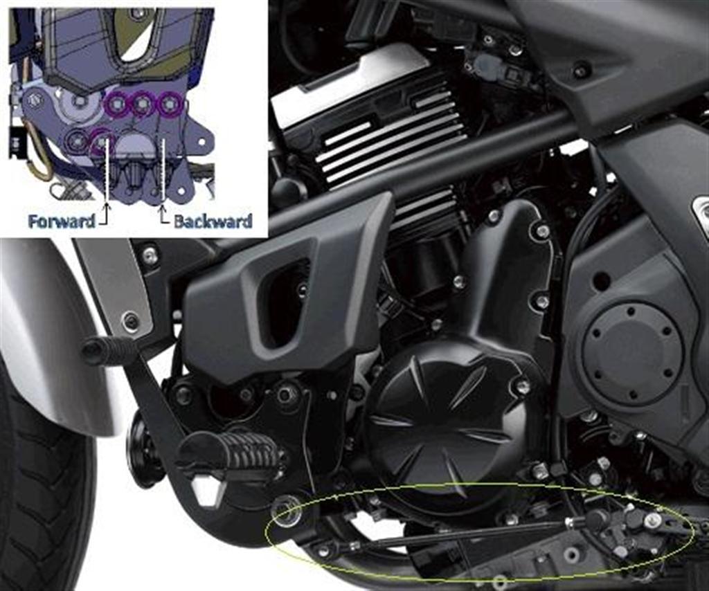 Ergo Fit Reduced Reach Components Kawasaki Vulcan S En650a En650b