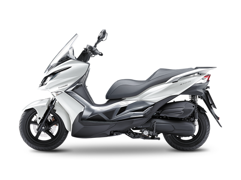 moto scooter kawasaki