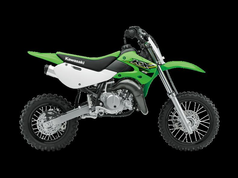 moto kawasaki 65cc
