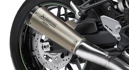Akrapovic Exhaust Titanium