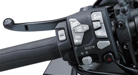 Electronic Cruise Control: First for a Kawasaki Sport Tourer
