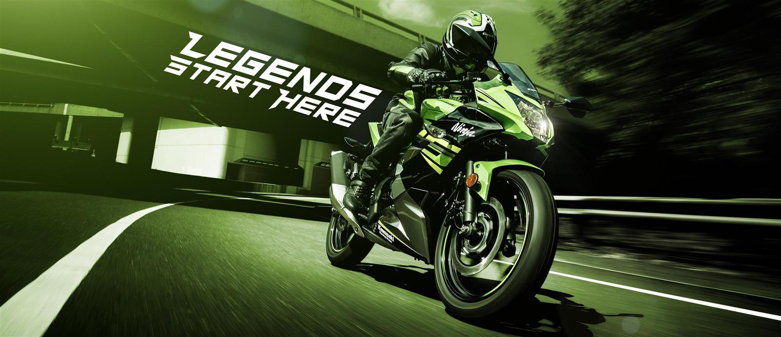 Ninja 125 My 2019 Kawasaki Europe