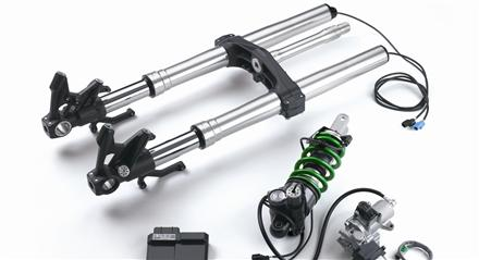 Kawasaki Electronic Control Suspension (KECS)