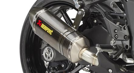 Akrapovic dual exhaust Carbon